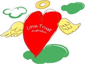 LOVE TRUST ロゴ